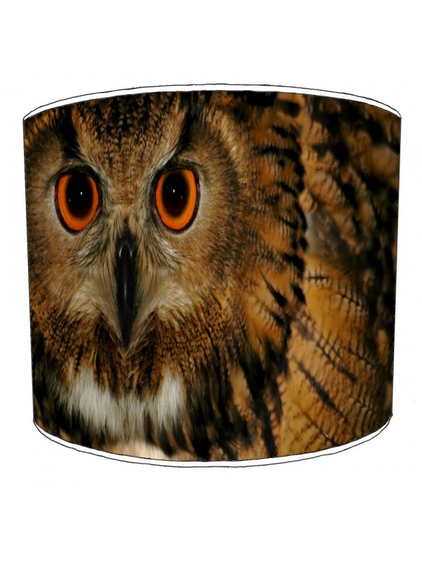 owls lampshade 4