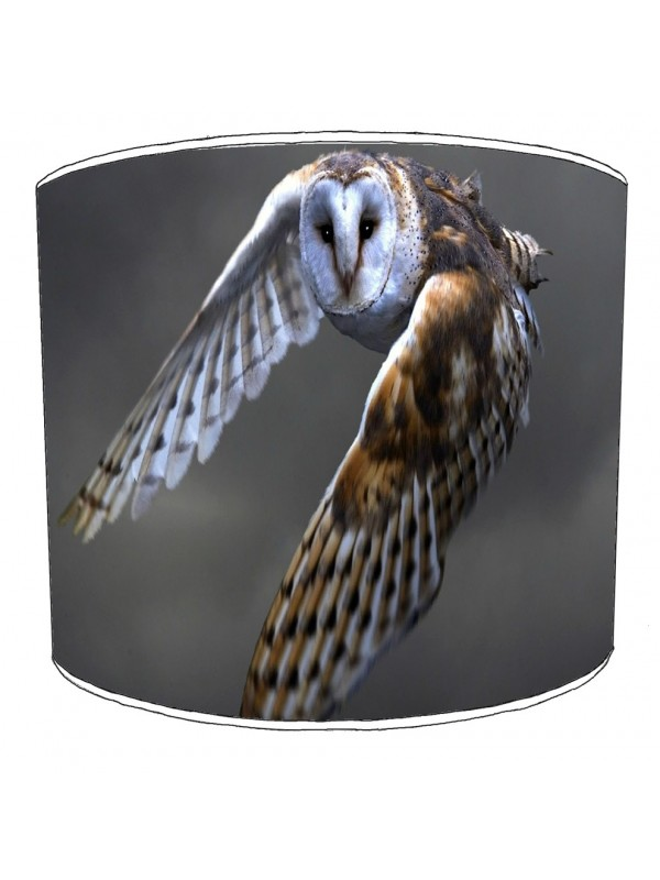 owls lampshade 5