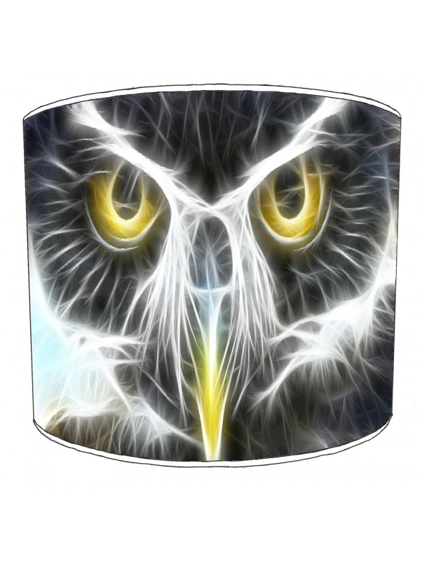 owls lampshade 8