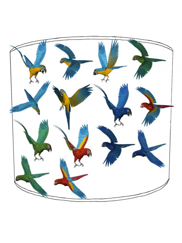 parrot bird lampshade 22