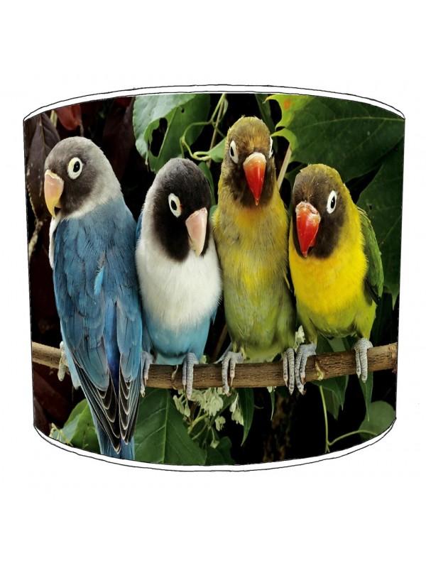 parrot bird lampshade 6