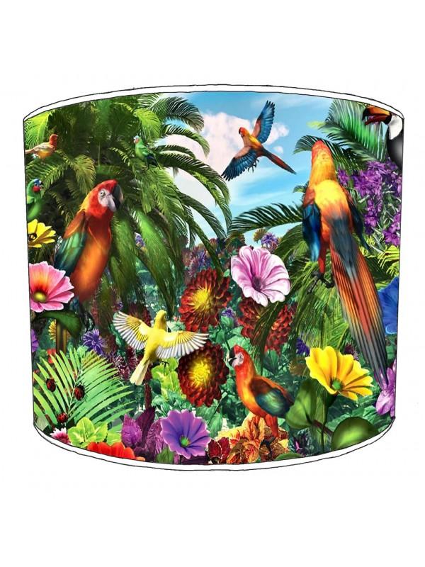 parrot bird lampshade 9