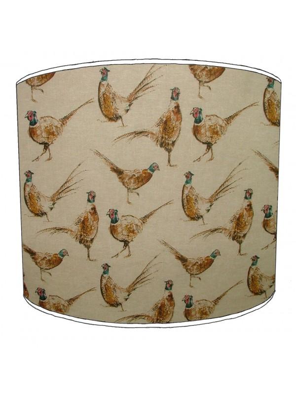 pheasant lampshade 1