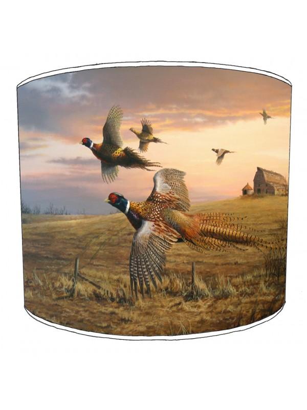 pheasant lampshade 12