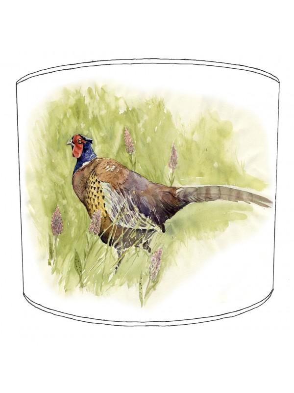 pheasant lampshade 13