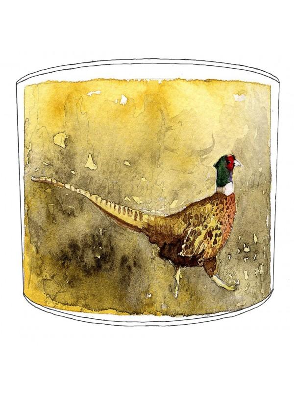 pheasant lampshade 14