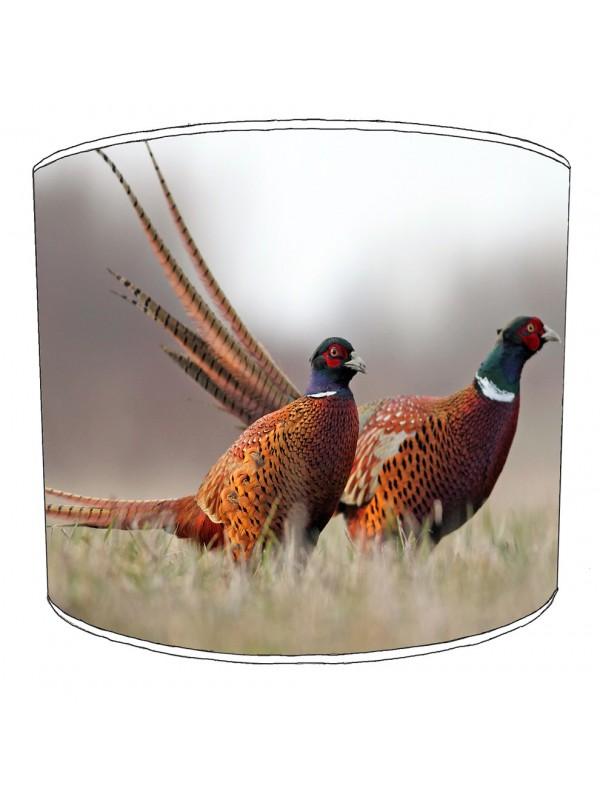 pheasant lampshade 15
