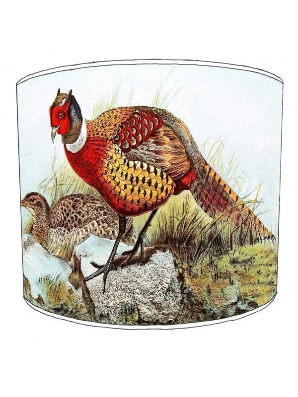 pheasant lampshade 17