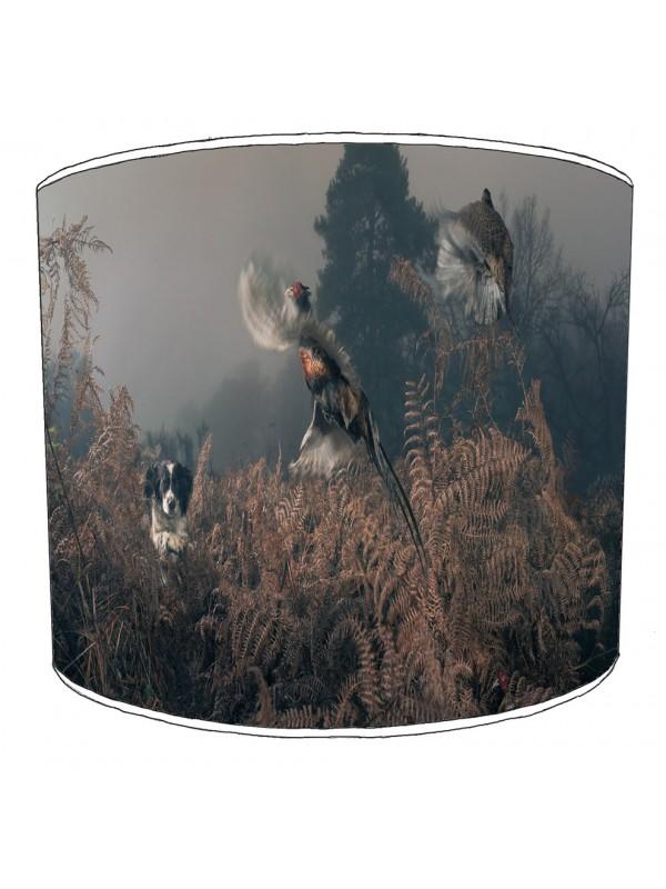pheasant lampshade 18