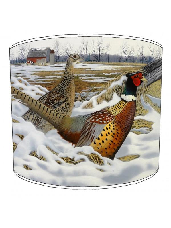 pheasant lampshade 19