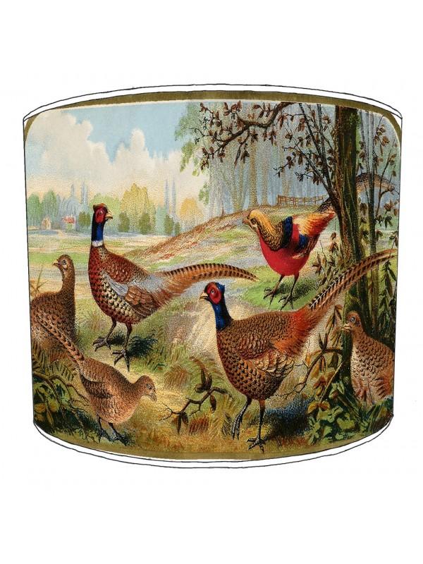pheasant lampshade 20