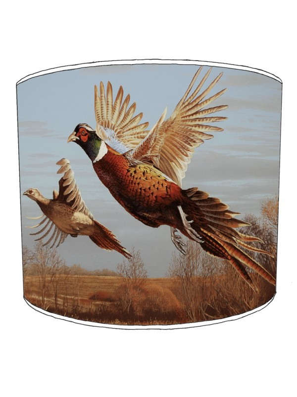 pheasant lampshade 4