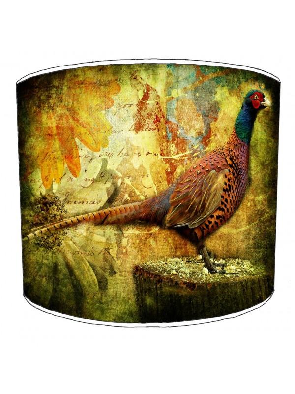 pheasant lampshade 5