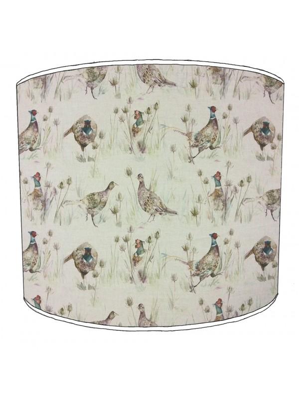 pheasant lampshade 7