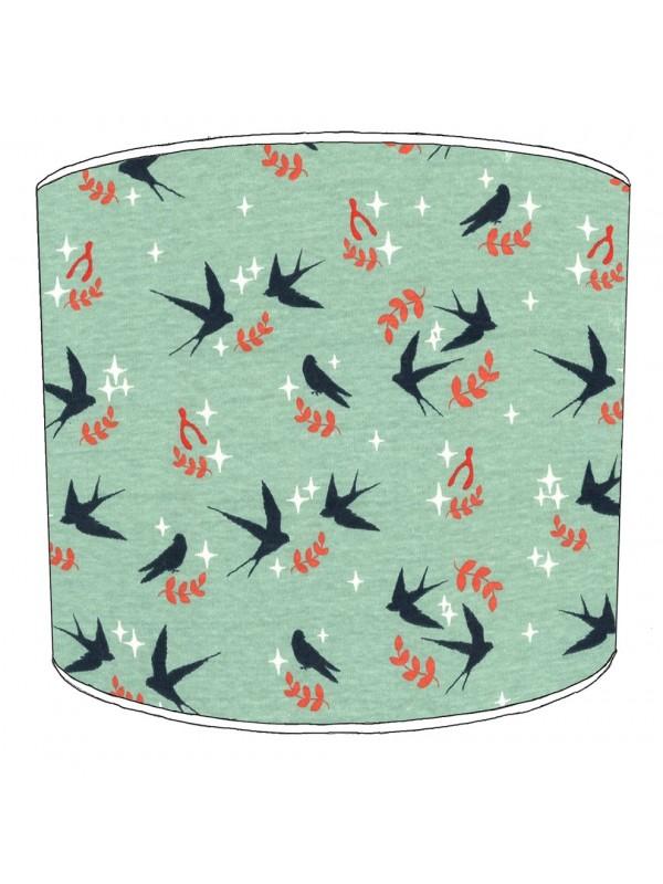 swallows lampshade 3