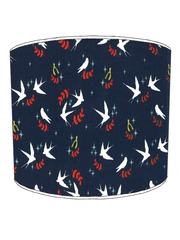 swallows lampshade 4