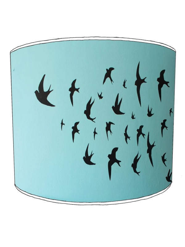 swallows lampshade 8