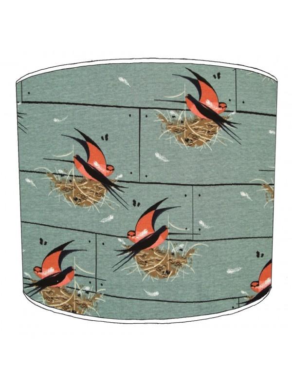 swallows lampshade 9