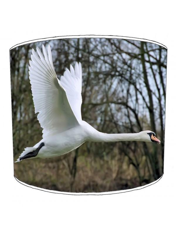 swan lampshade 1