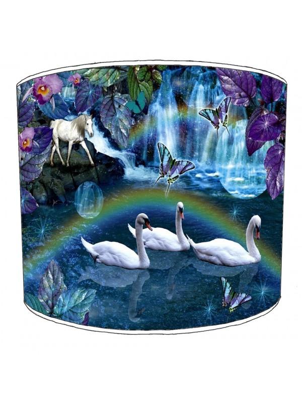 swan lampshade 13