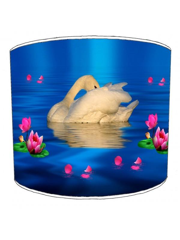 swan lampshade 14