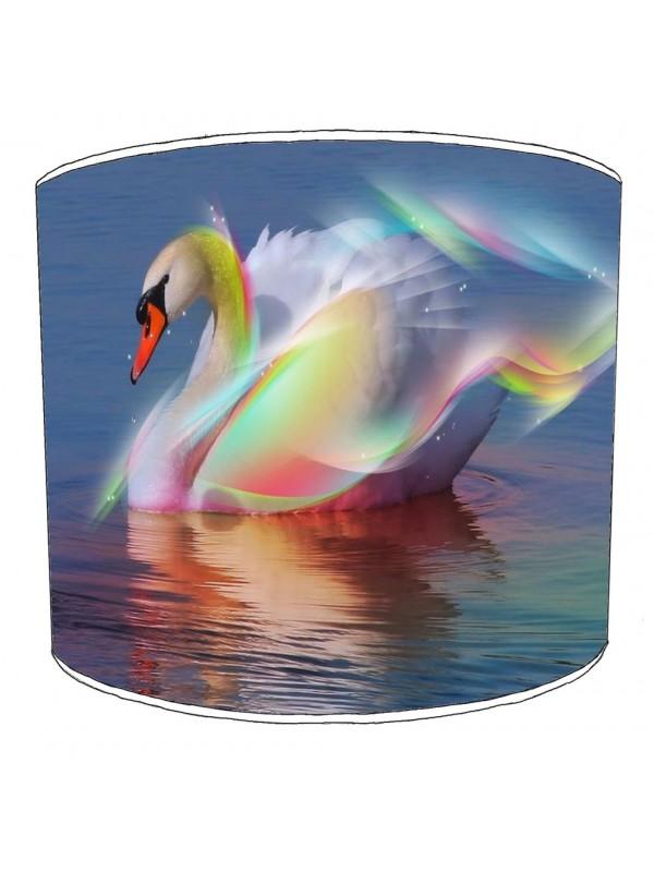 swan lampshade 2