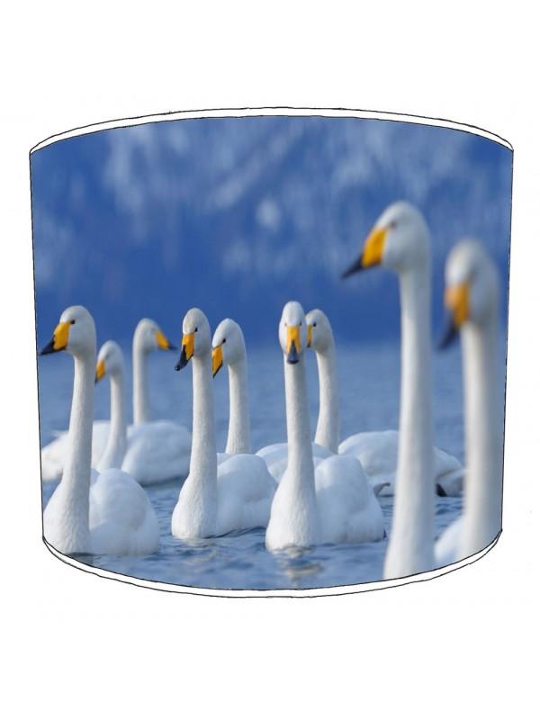 swan lampshade 3