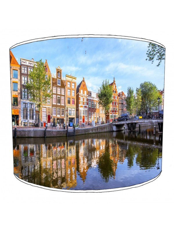 city of amsterdam lampshade 2