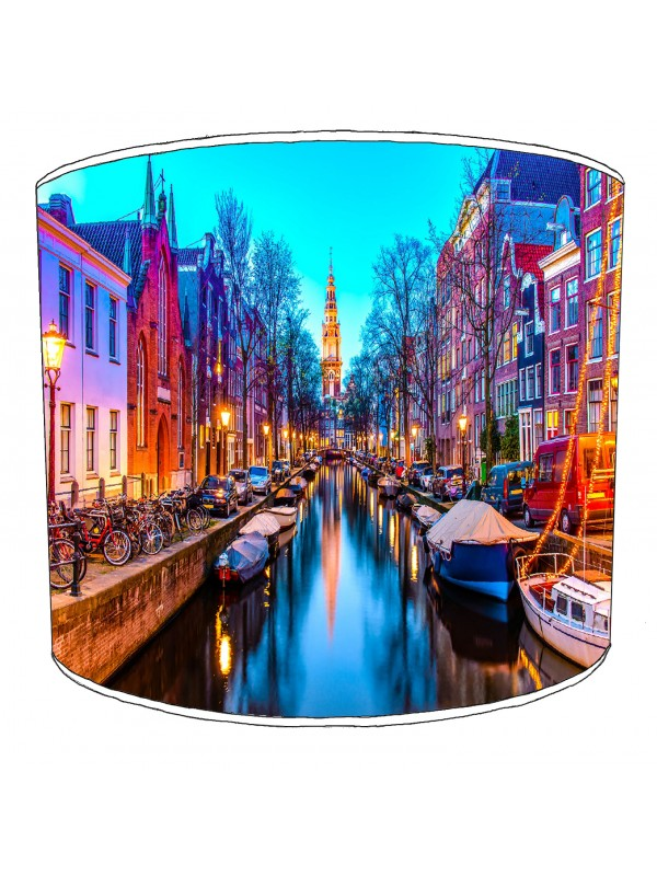 city of amsterdam lampshade 9