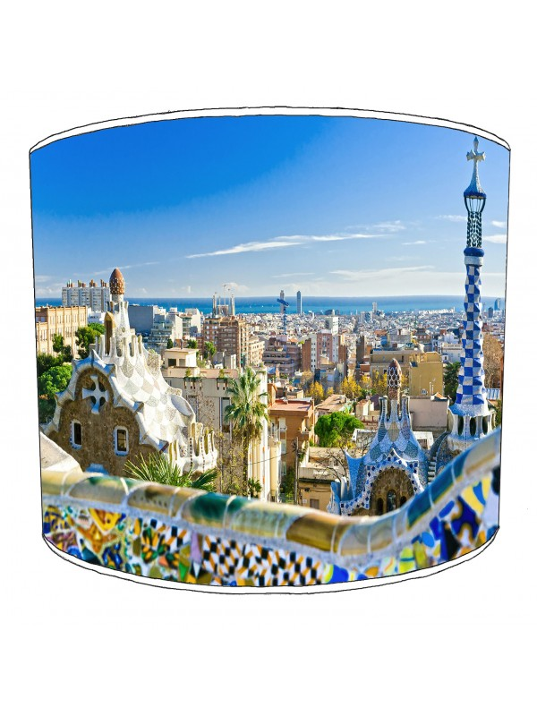 city of barcelona lampshade 1