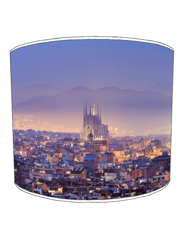 city of barcelona lampshade 10