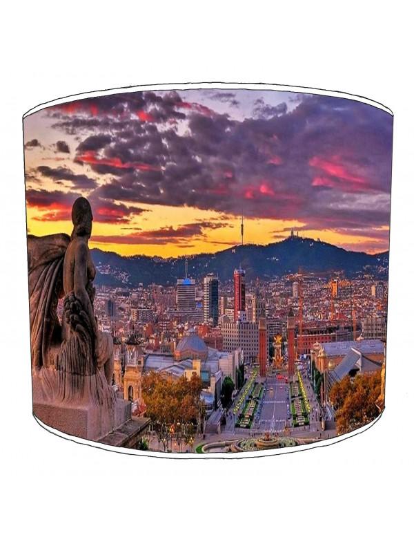 city of barcelona lampshade 12