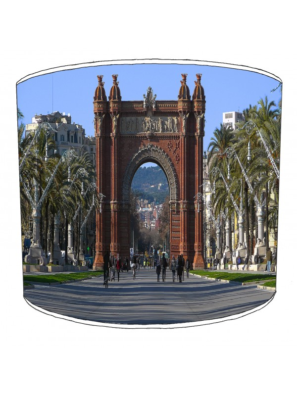 city of barcelona lampshade 3