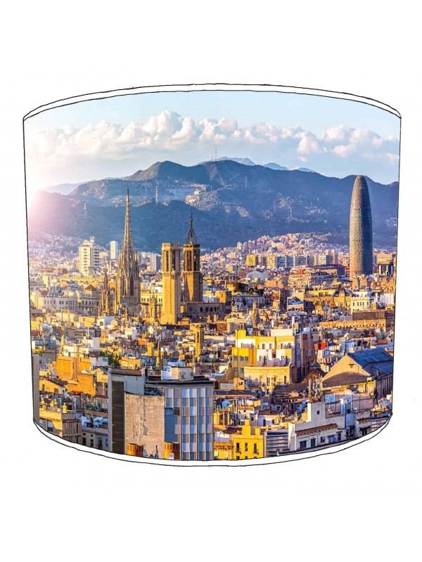 city of barcelona lampshade 7