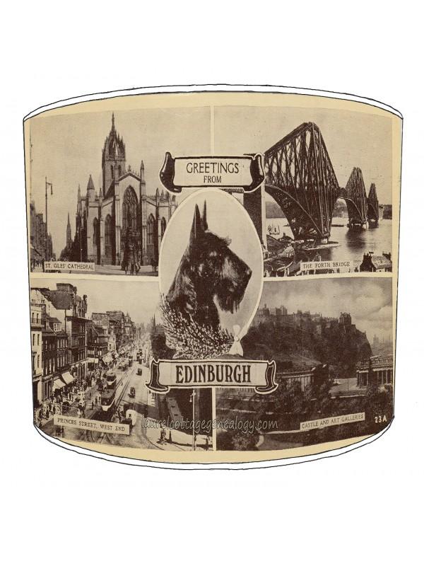 city of edinburgh lampshade 5