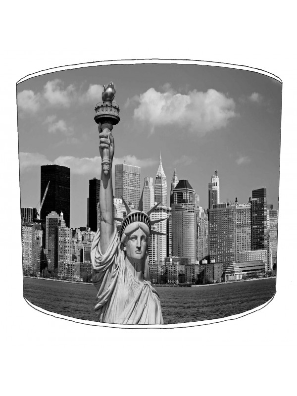 city of new york statue of liberty lampshade