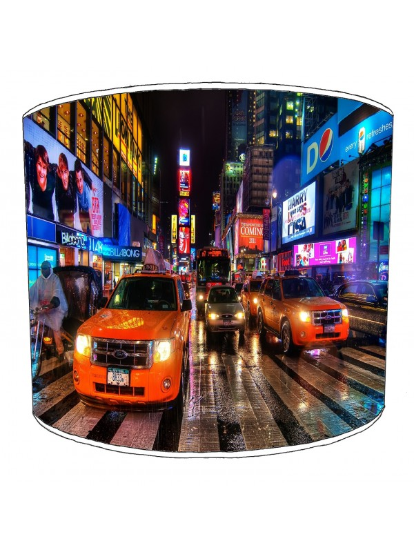 city of new york street lampshade