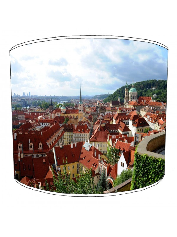 city of prague lampshade 1