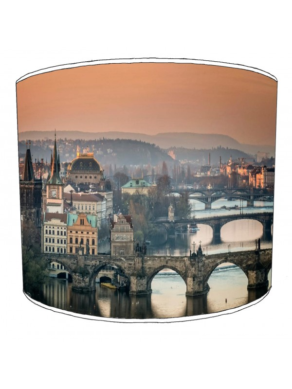 city of prague lampshade 3