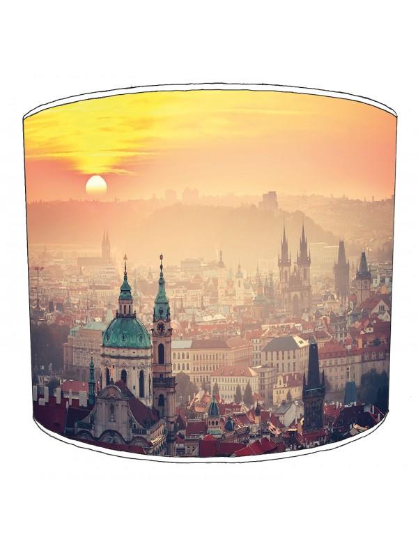 city of prague lampshade 6