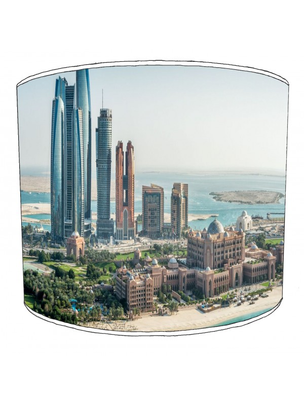 city of abu dhabi lampshade 2