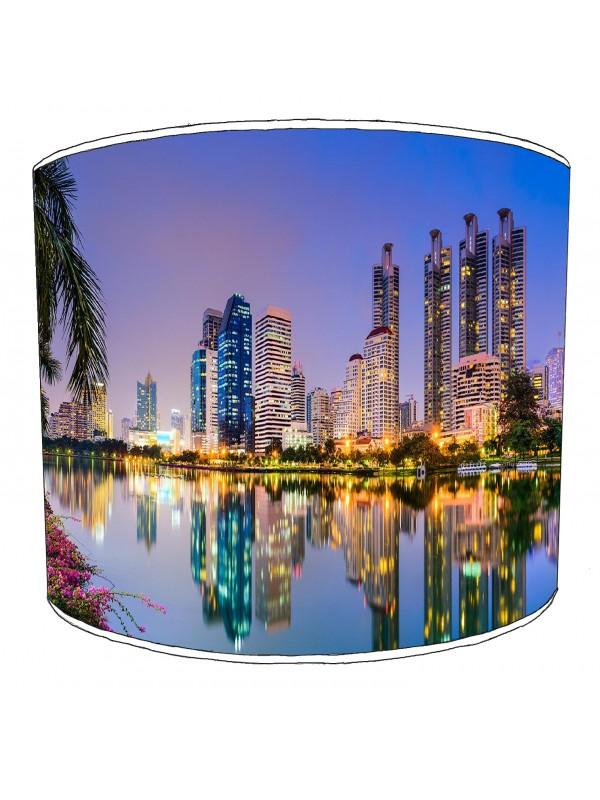 city of bangkok lampshade 2