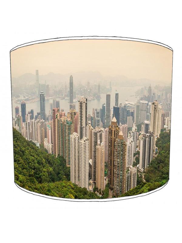 city of hong kong lampshade 1