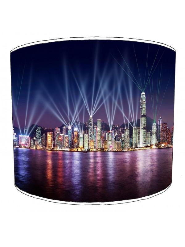 city of hong kong lampshade 2