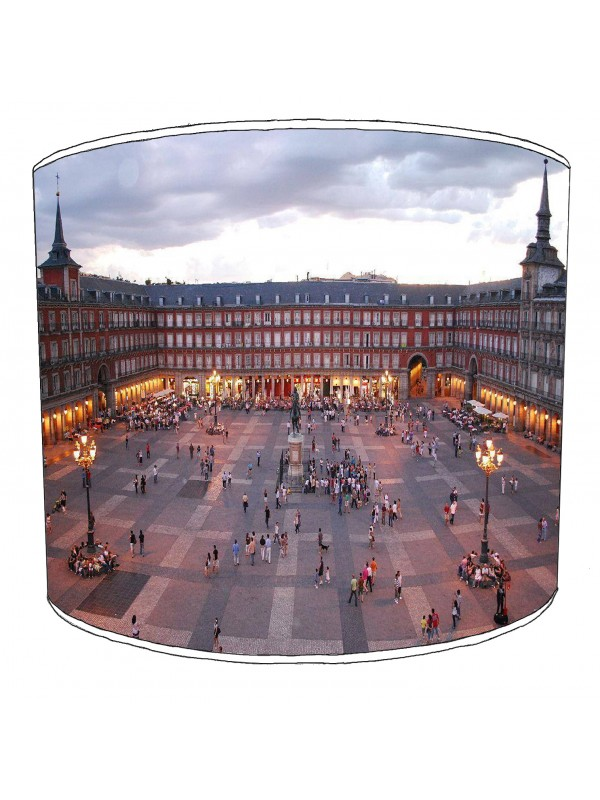 city of madrid lampshade 1