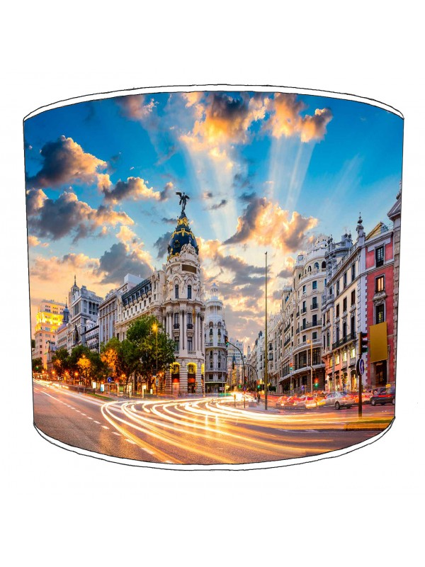 city of madrid lampshade 2