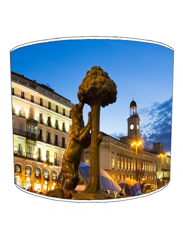 city of madrid lampshade 9