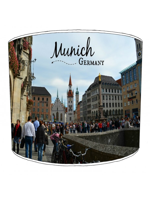city of munich lampshade 9