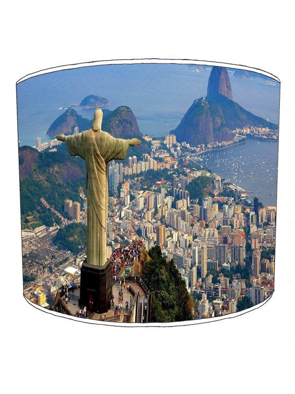 city of rio de janeiro lampshade 3