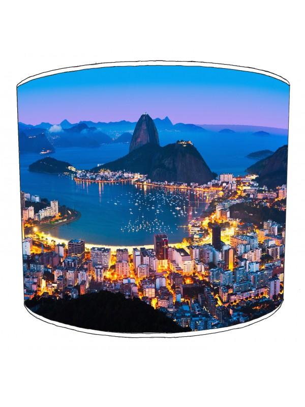 city of rio de janeiro lampshade 7